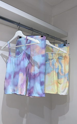Tie Dye Thin Strap Set - nicolexlondon