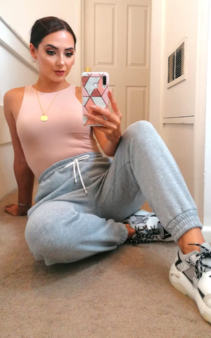 Casual Tie Up Joggers - nicolexlondon