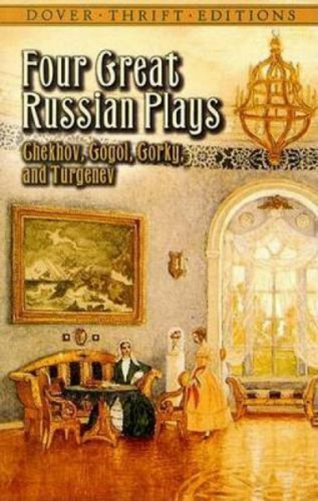 Russian Playwright Writers Checkov Gogol Gorky Turgenev in English