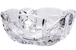 Decorative Crystal Appetizer Dish  'Adjutant'