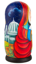 Load image into Gallery viewer, Nativity Russian Matryoshka Nesting 5 Dolls Set Hand-painted