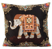 Load image into Gallery viewer, decorative tapestry throw pillow Fortune Import
