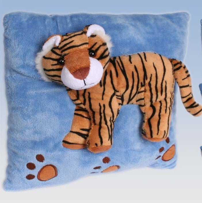 plush velvet decorative velour throw pillow cushion tiger