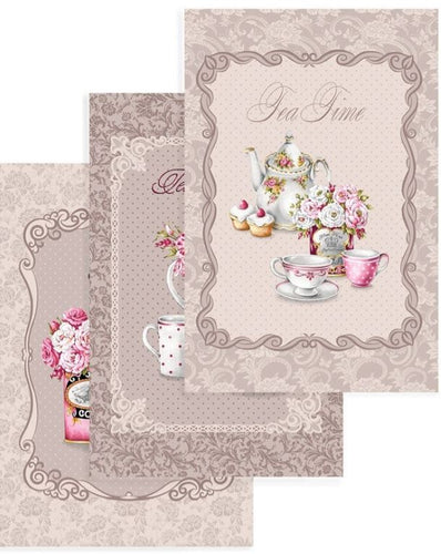 Set of 3 French Inspired Design