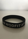Bracelet Noir - Team Wodfit Apparel