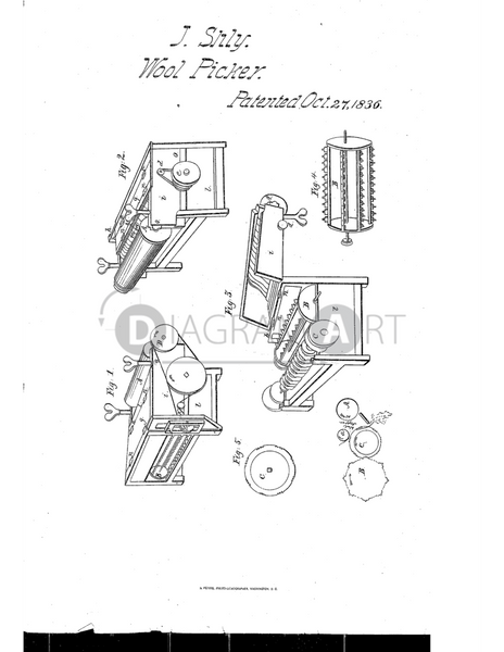 USPTO Patent_0000069 , Free Sketch - Diagramart Author, DiagramArt