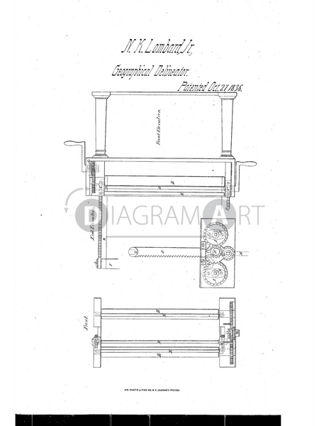 USPTO Patent_0000070 , Free Sketch - Diagramart Author, DiagramArt