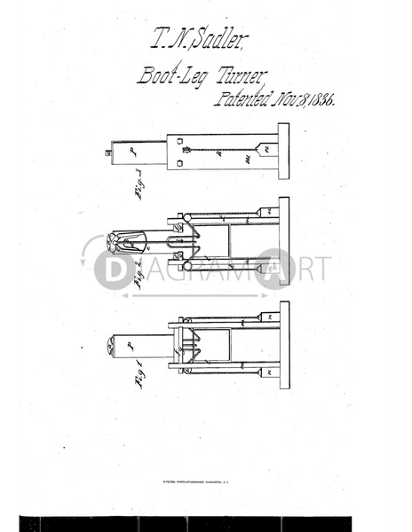USPTO Patent_0000073 , Free Sketch - Diagramart Author, DiagramArt
