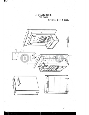 USPTO Patent_0000074 , Free Sketch - Diagramart Author, DiagramArt