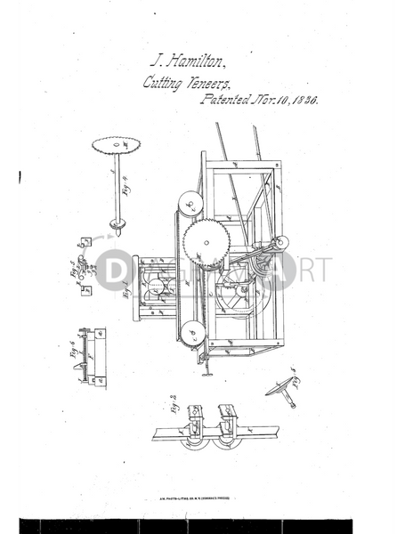 USPTO Patent_0000077 , Free Sketch - Diagramart Author, DiagramArt