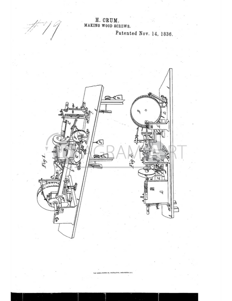 USPTO Patent_0000079 , Free Sketch - Diagramart Author, DiagramArt