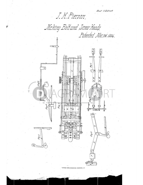 USPTO Patent_0000086 , Free Sketch - Diagramart Author, DiagramArt