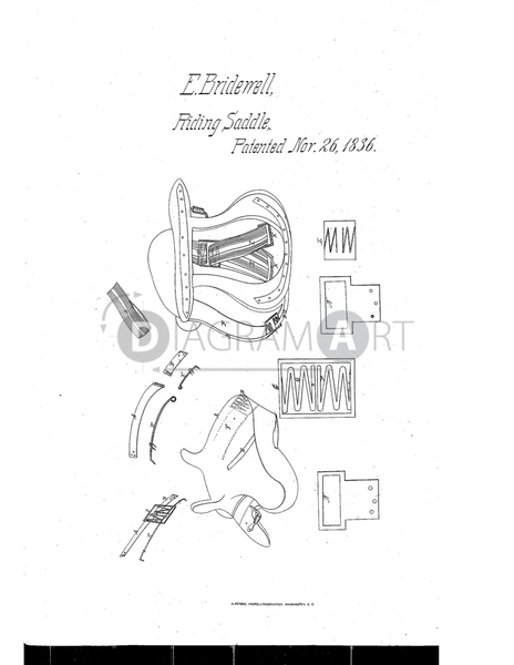 USPTO Patent_0000089 , Free Sketch - Diagramart Author, DiagramArt