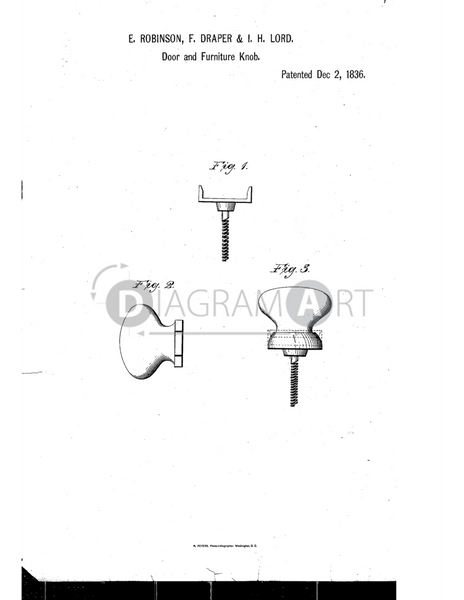 USPTO Patent_0000098 , Free Sketch - Diagramart Author, DiagramArt