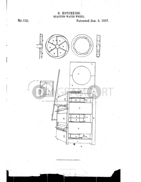 USPTO Patent_0000110 , Free Sketch - Diagramart Author, DiagramArt