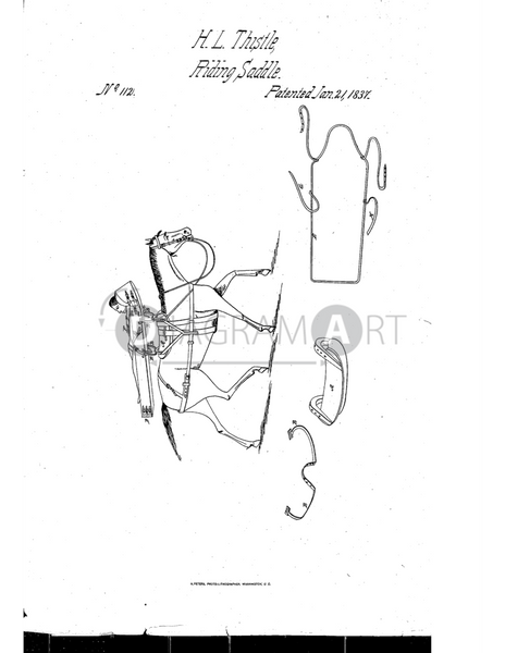 USPTO Patent_0000112 , Free Sketch - Diagramart Author, DiagramArt