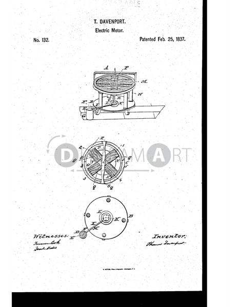USPTO Patent_0000132 , Free Sketch - Diagramart Author, DiagramArt