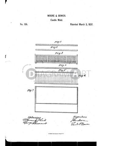 USPTO Patent_0000136 , Free Sketch - Diagramart Author, DiagramArt