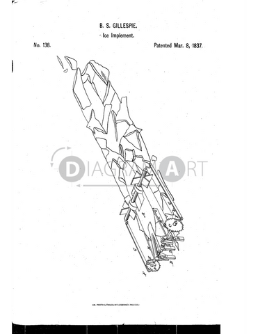 USPTO Patent_0000138 , Free Sketch - Diagramart Author, DiagramArt