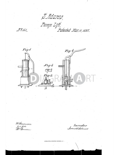 USPTO Patent_0000141 , Free Sketch - Diagramart Author, DiagramArt