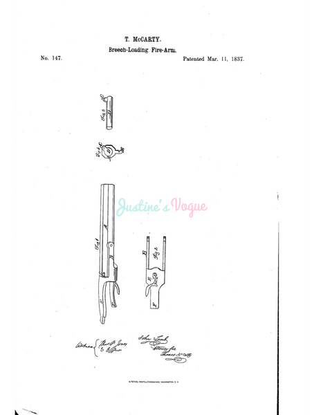 USPTO Patent_0000147 , Free Sketch - Diagramart Author, DiagramArt