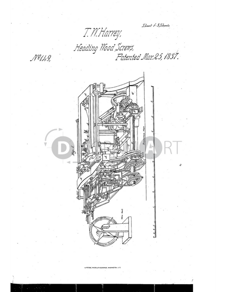 USPTO Patent_0000149 , Free Sketch - Diagramart Author, DiagramArt