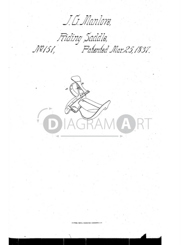 USPTO Patent_0000151 , Free Sketch - Diagramart Author, DiagramArt