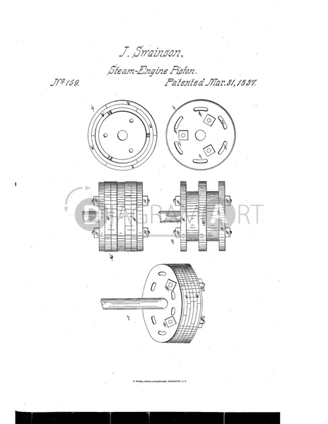 USPTO Patent_0000159 , Free Sketch - Diagramart Author, DiagramArt