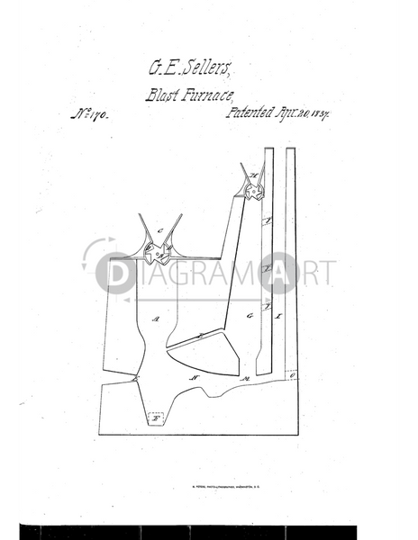 USPTO Patent_0000170 , Free Sketch - Diagramart Author, DiagramArt