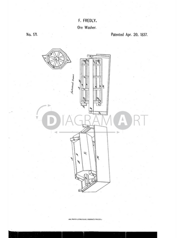USPTO Patent_0000171 , Free Sketch - Diagramart Author, DiagramArt