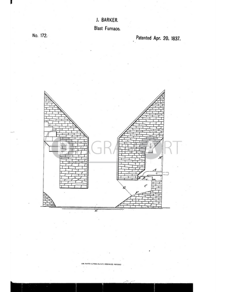 USPTO Patent_0000172 , Free Sketch - Diagramart Author, DiagramArt