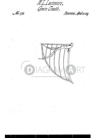USPTO Patent_0000178 , Free Sketch - Diagramart Author, DiagramArt