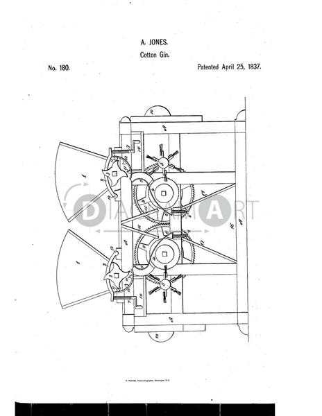 USPTO Patent_0000180 , Free Sketch - Diagramart Author, DiagramArt