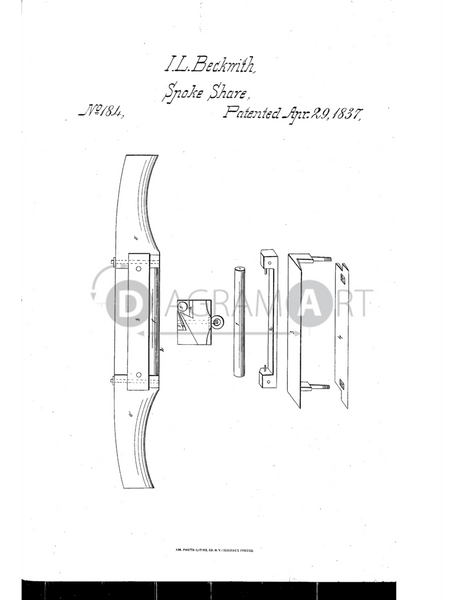 USPTO Patent_0000184 , Free Sketch - Diagramart Author, DiagramArt