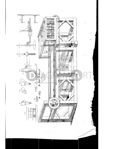 USPTO Patent_0000192 , Free Sketch - Diagramart Author, DiagramArt