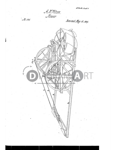 USPTO Patent_0000196 , Free Sketch - Diagramart Author, DiagramArt