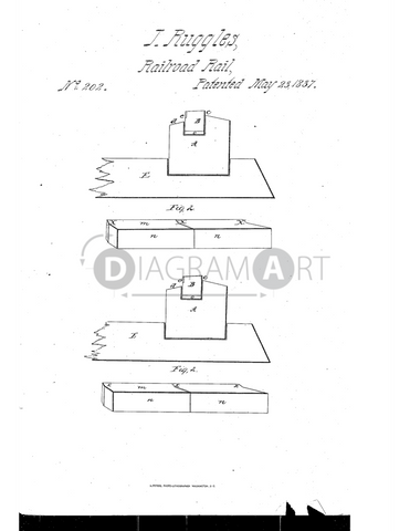 USPTO Patent_0000202 , Free Sketch - Diagramart Author, DiagramArt