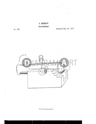 USPTO Patent_0000207 , Free Sketch - Diagramart Author, DiagramArt