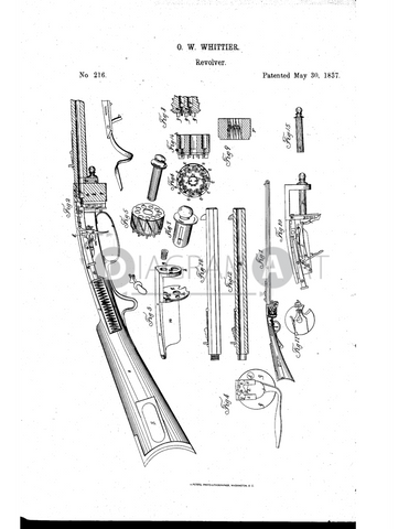 USPTO Patent_0000216 , Free Sketch - Diagramart Author, DiagramArt