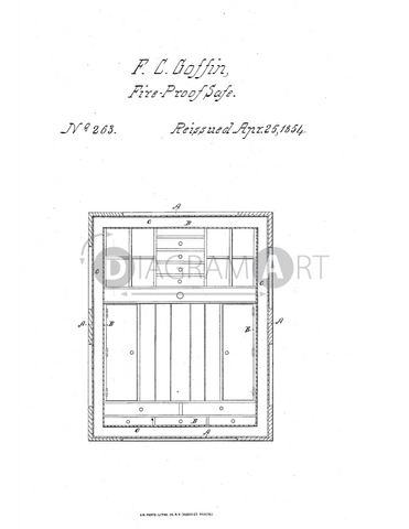 USPTO Patent_0000263 , Free Sketch - Diagramart Author, DiagramArt