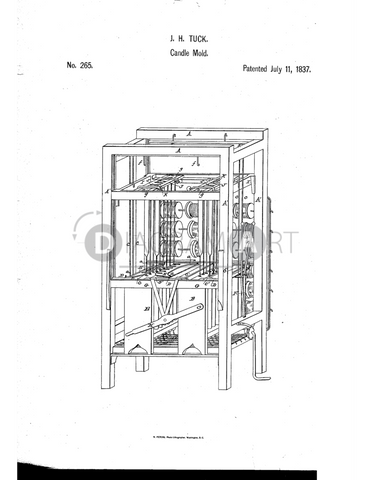 USPTO Patent_0000265 , Free Sketch - Diagramart Author, DiagramArt