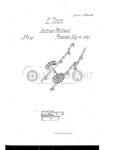 USPTO Patent_0000339 , Free Sketch - Diagramart Author, DiagramArt