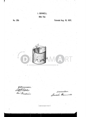 USPTO Patent_0000359 , Free Sketch - Diagramart Author, DiagramArt