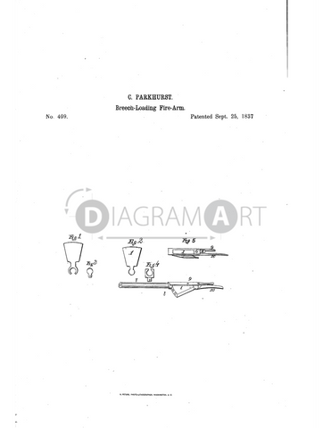 USPTO Patent_0000409 , Free Sketch - Diagramart Author, DiagramArt