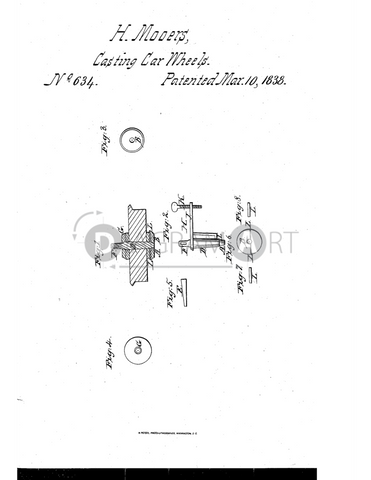 USPTO Patent_0000634 , Free Sketch - Diagramart Author, DiagramArt