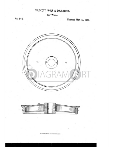 USPTO Patent_0000640 , Free Sketch - Diagramart Author, DiagramArt
