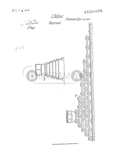 USPTO Patent_0000690 , Free Sketch - Diagramart Author, DiagramArt
