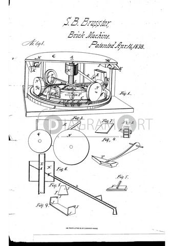 USPTO Patent_0000693 , Free Sketch - Diagramart Author, DiagramArt