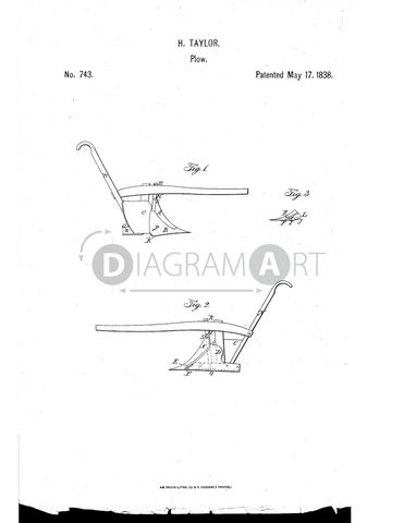 USPTO Patent_0000743 , Free Sketch - Diagramart Author, DiagramArt