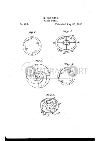 USPTO Patent_0000759 , Free Sketch - Diagramart Author, DiagramArt